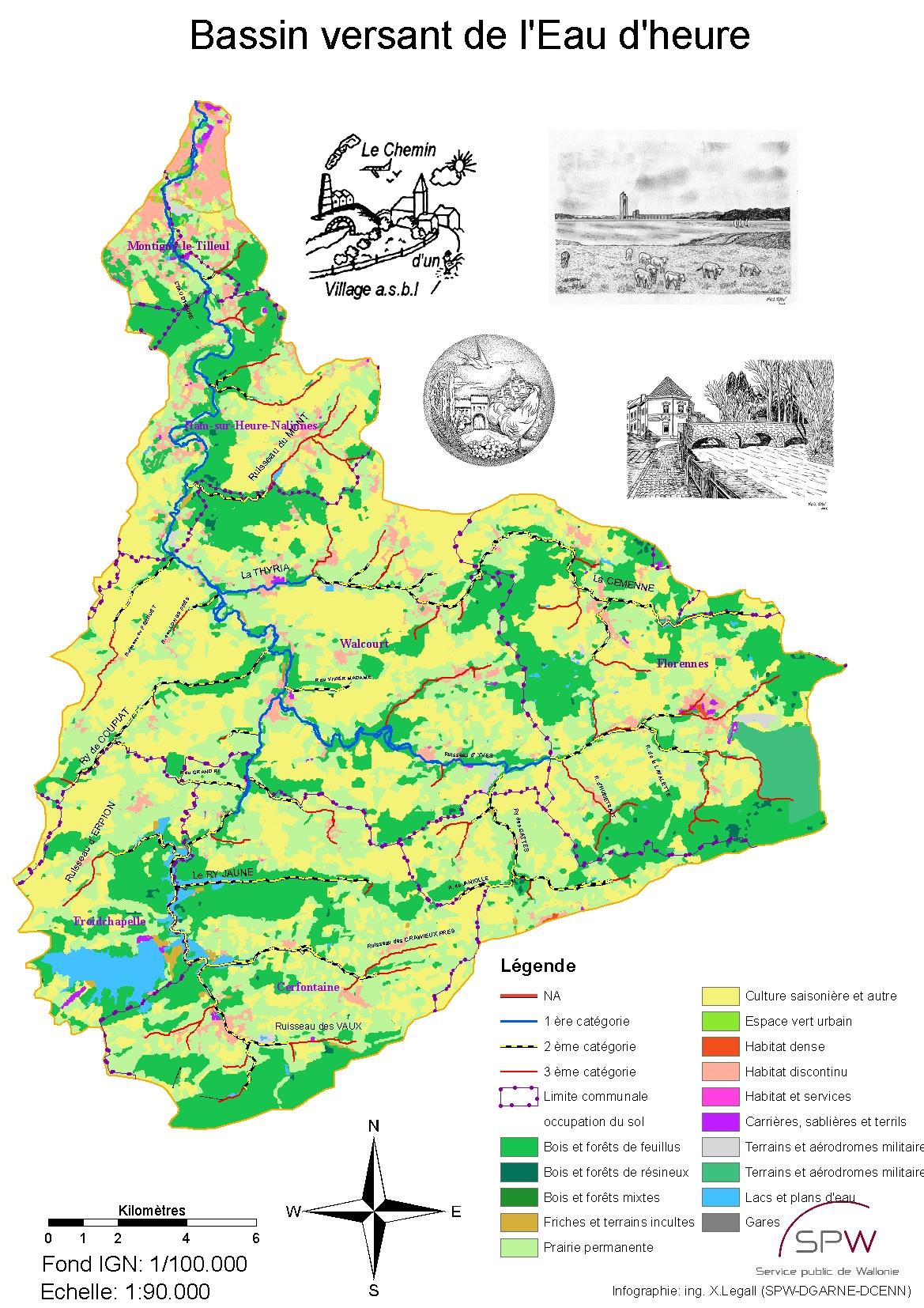 carte-bassin-eau-d-heure-occupation-sol
